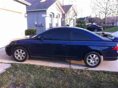 honda civic 2003 2 door coupe sell used 2003 honda civic ex coupe 2 door 1 7l in wesley chapel florida united states