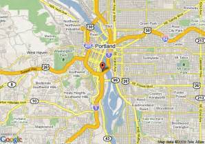 map downtown portland oregon residence inn portland downtown river place portland