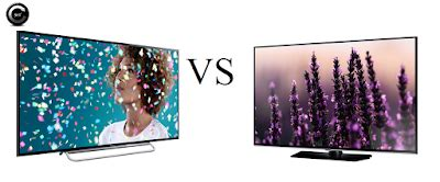 review comparatie sony 40w605 vs samsung 40h5500 | cum