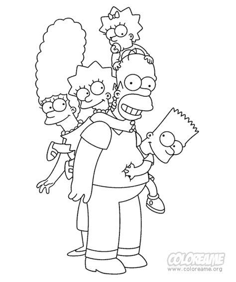 imagenes de la familia simpson la familia simpson para colorear imagenes para portada