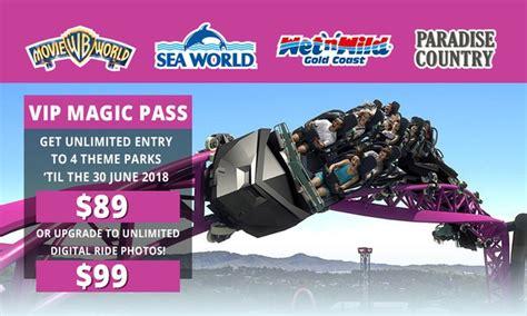 theme park deals gold coast village roadshow theme parks in oxenford qld groupon