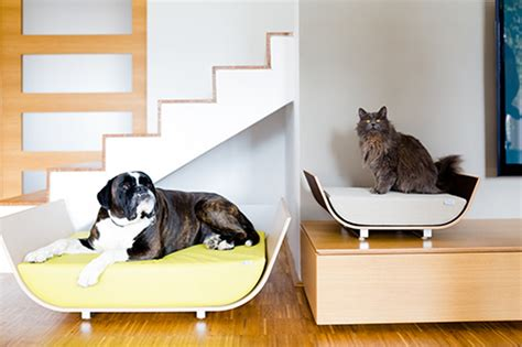 modern pet furniture accessories for design lovers modern dog beds and accessories from howlpot dog milk dog