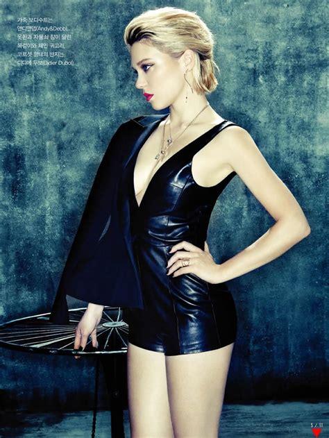 lea seydoux vogue cover lea seydoux for vogue korea leather and fashion actress