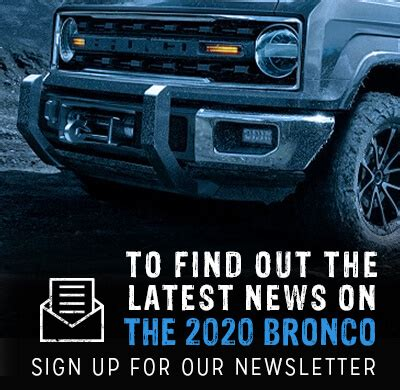 2020 ford bronco | new ford bronco | cj pony parts