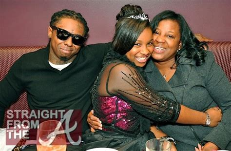 toya carter amp lil wayne celebrate reginae s 12th birthday