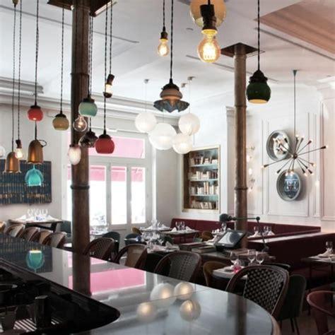 desain meja vintage bright unique and trendy of kafka cafe design modern