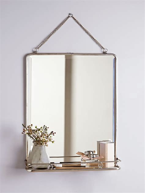 Bathroom Mirrors Pinterest Bathroom Mirror With Shelf Best 25 Small Bathroom Mirrors Ideas On Pinterest Bathroom