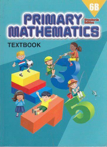 Gasing Mathematics 1a 6b primary mathematics 6b textbook standard edition association for contextual behavioral science