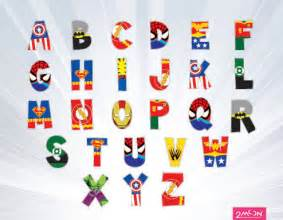 9 best images of free printable superhero letters