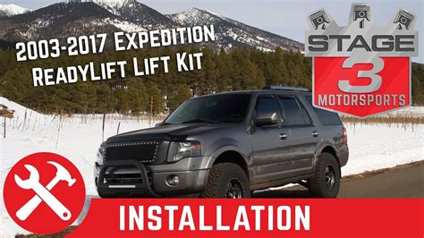 2003 ford expedition lift kit 2003 2017 ford expedition readylift 3 quot front and 2 quot rear