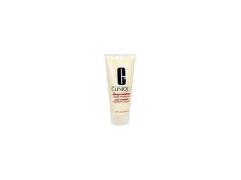 deep comfort body moisture clinique deep comfort body moisture 6 7oz ingredients and