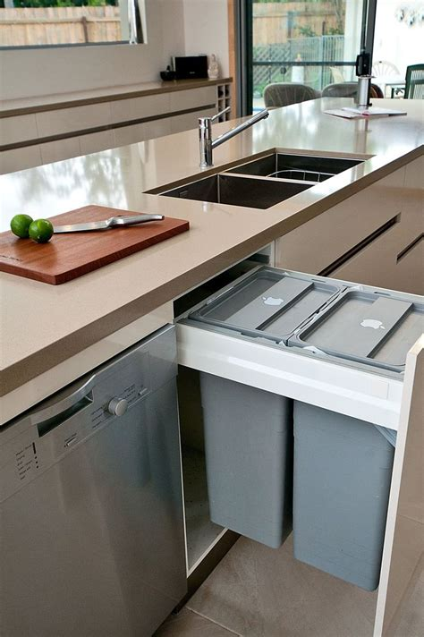 kitchen trash can ideas 25 best ideas about trash bins on trash can cabinet trash can kitchen and