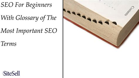 beginning seo seo for beginners build it proven real