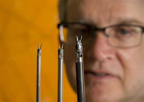 Origami Tools - surgical tools made smaller with origami to make surgery
