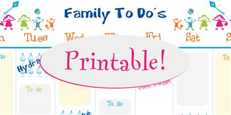 free family calendar template 6 best images of free printable family calendar