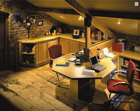 attic work space dual attic desk home office a but lots of