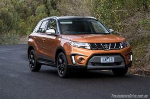 Suzuki Vitara Turbo 2016 Suzuki Vitara S Turbo Review Performancedrive