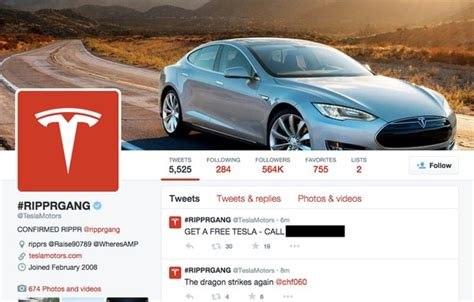 hackers hijack tesla s website account and email