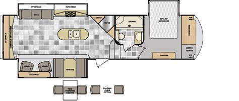 winnebago 5th wheel floor plans latitude floorplans winnebago rvs