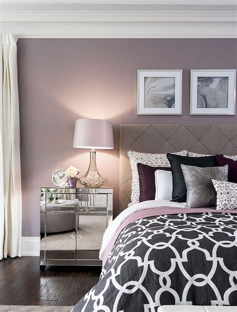 bedroom ideas purple and black 25 best ideas about bedroom wall colors on pinterest