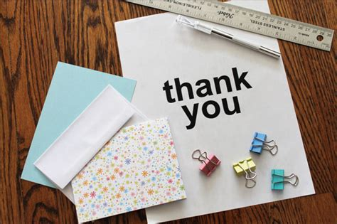 thank you cards to make card a thank you card with cut out letters