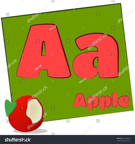 5 Letter Words Apple aapplecolorful alphabet letters words starting each stock