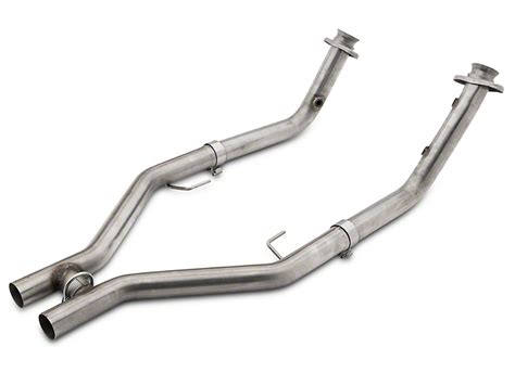 v6 mustang h pipe pypes mustang road h pipe hfm23 05 10 gt free shipping