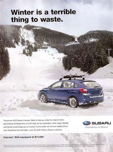 subaru ad subaru advertising photographs page 4
