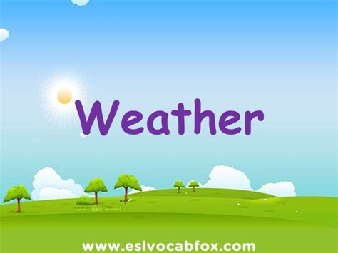 ppt templates free download weather weather vocabulary esl powerpoint