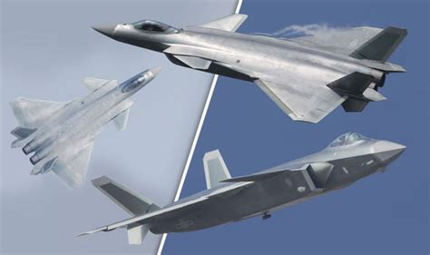 China unveils new J20 fighter jet amid tensions with US ... J 20