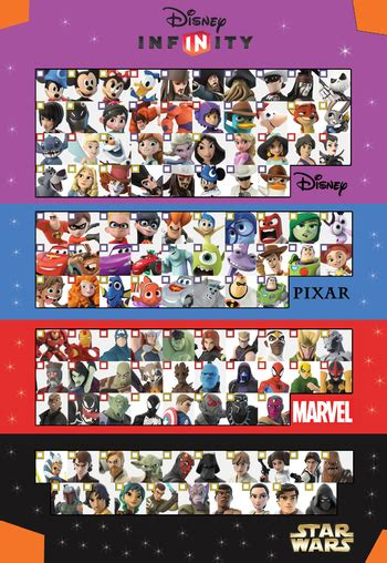 disney infinity for characters disney infinity characters tv tropes