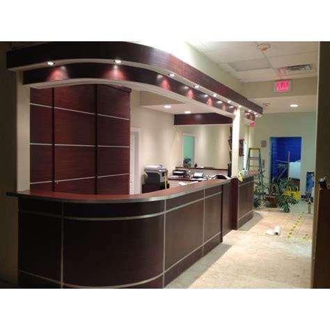 Modern Ceiling Design by Dayoris Doors Front Desk Modern Design Medical Office