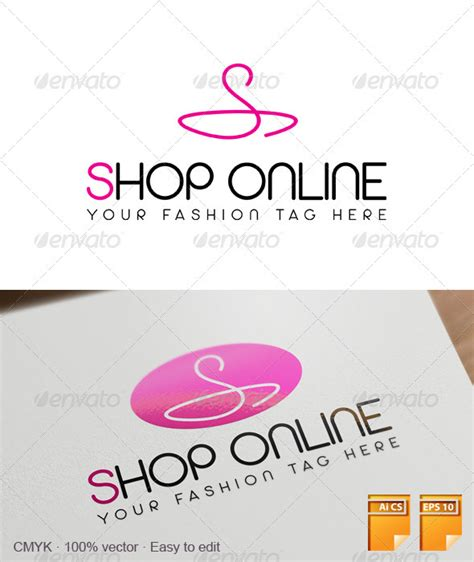 Online Shopping For Home Decorative Items shop online logo graphicriver