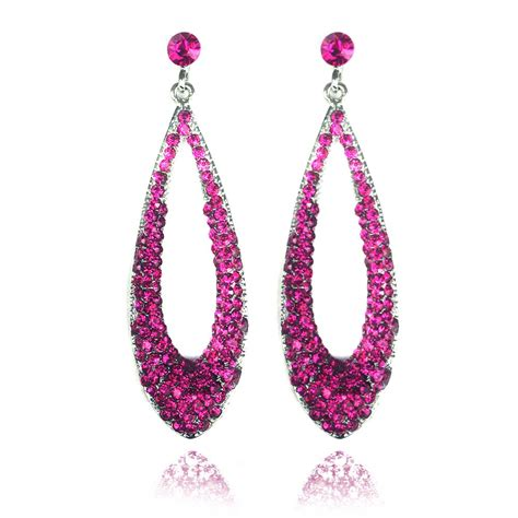 Pink Earring the gallery for gt pink earrings