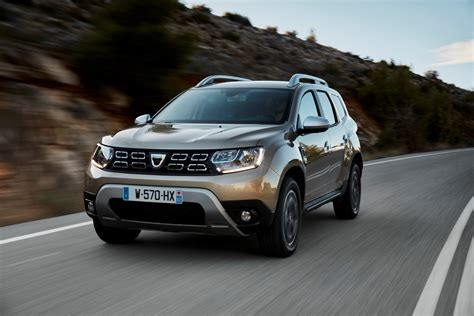 dacia duster new 2018 dacia duster detailed in new photos and