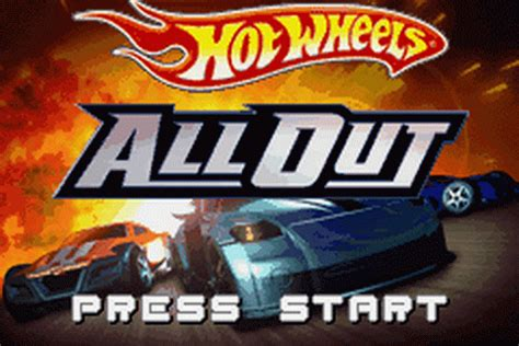 play hot wheels all out nintendo game boy advance online