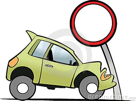 police car accident clipart