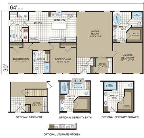 Section Manufactured Homes by 90 Best Images About Floorplans Ranch On