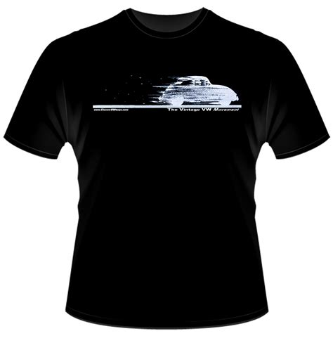 Tshirt Vw Black 2 my classic vintage vw movement beetle bug t shirt designs