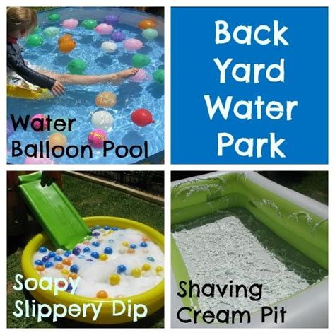 backyard water park 25 fantastic ideas to spice up your summer backyard pretty designs