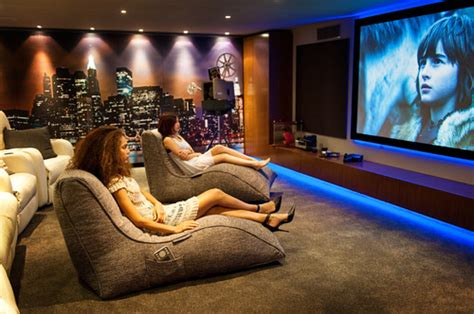 bean bag cinema epic home cinema room does staying in beat going out