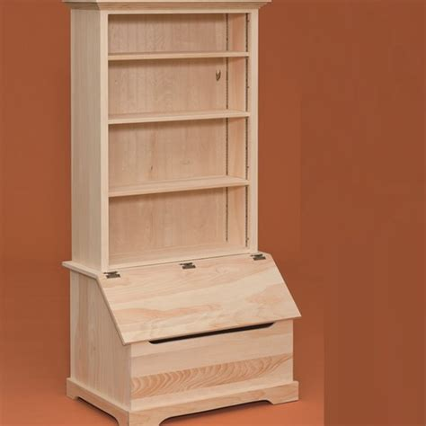 box with bookcase storage