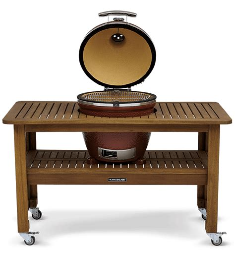 grill table for classic joe kamado joe kamado guru