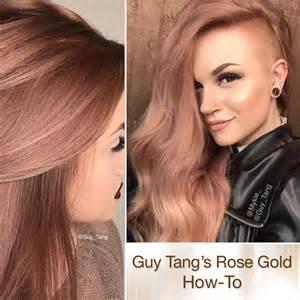 tang hair color rich gold haircolor by tang hair color