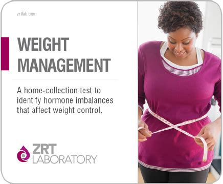 weight management test weight management profile test kit zrtlab healthtoday