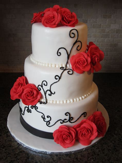 Wedding Cakes Roses by Wedding Cakes 187 Diary Of A Cakeaholic