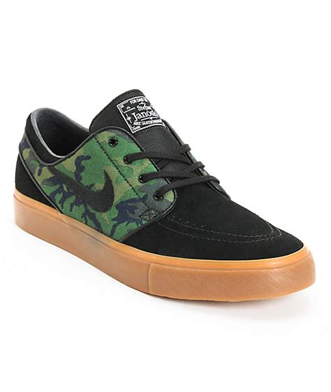 camo sneakers nike nike sb zoom stefan janoski quot jungle camo quot black shoes