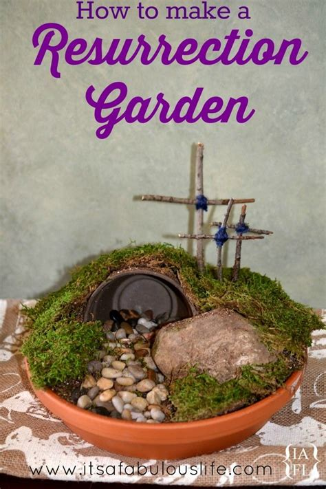 Easter Garden Ideas Easter Diy How To Make A Resurrection Garden My Kiddos And I Did One Together And We It