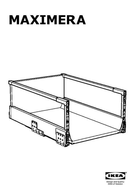 Montage Tiroir Ikea by Montage Tiroir Ikea Metod Faktum Lement Vier Avec