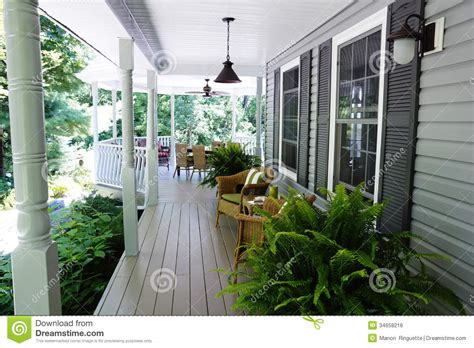 Veranda Landscape by Outdoor Living Stock Photo Image Of Ferns Colours
